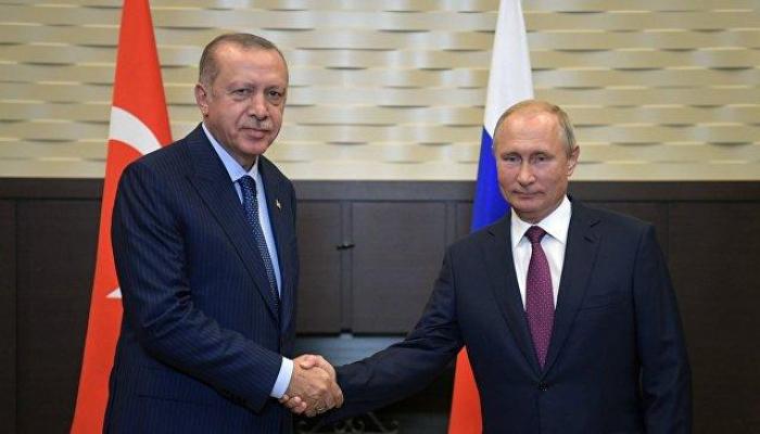 Ərdoğan və Putin arasında görüş başa çatdı