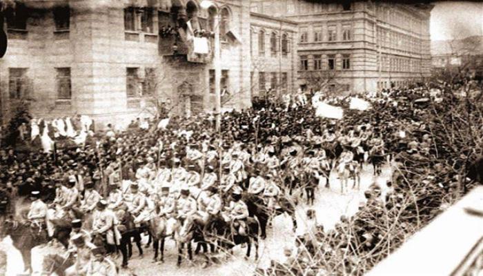 Исполняется 102 года со дня освобождения Баку от большевистско-дашнакской оккупации