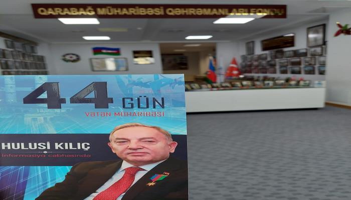 """""""Qarabağ müharibəsi qəhrəmanları"""" fonduna yeni nəşrlər daxil olub"""