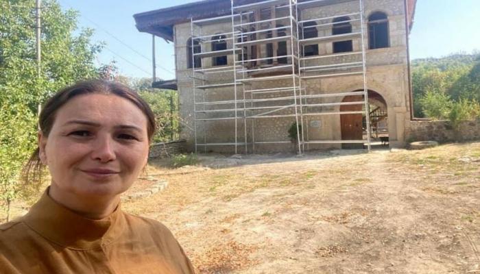 Şuşada Mehmandarovun evi bərpa edilir