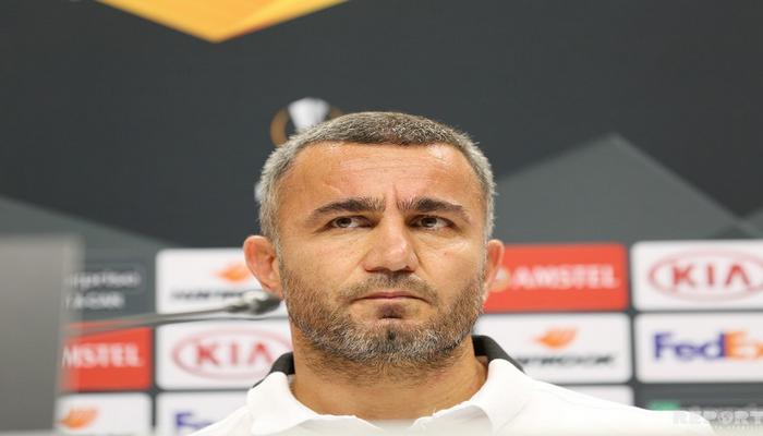 """Qurban Qurbanov: """"Bizi ciddi rəqib və ciddi oyun gözləyir"""""""