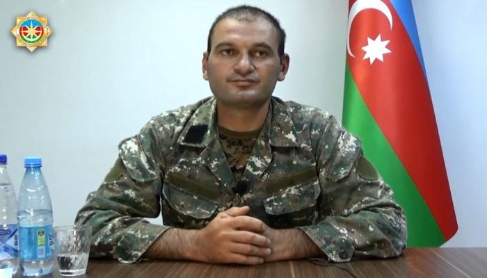 Задержанный армянский командир о попытке совершения провокации  в Геранбое
