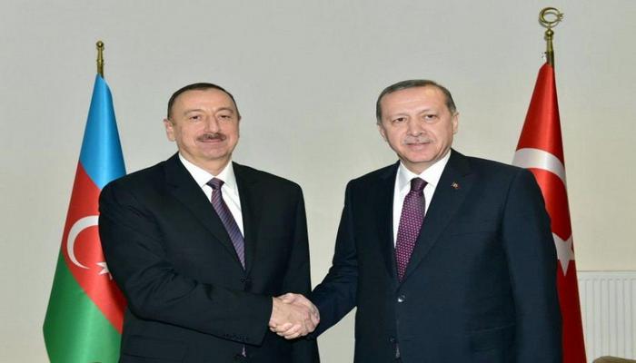 Rəcəb Tayyib Ərdoğan Prezident İlham Əliyevə zəng edib