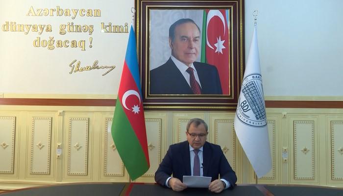 Ректор БГУ Эльчин Бабаев выступил на III Евразийском форуме