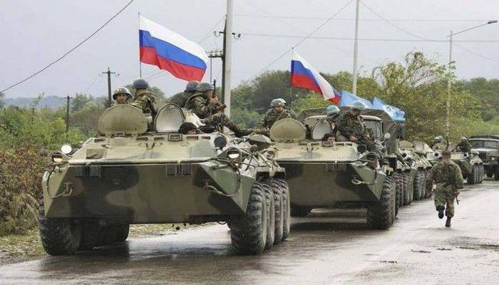 Rusiya sülhməramlıları artıq Qarabağa doğru yola çıxdı