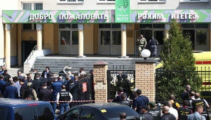 Rusiyada məktəbə silahlı basqın: Şagirdləri öldürən şəxs saxlanıldı