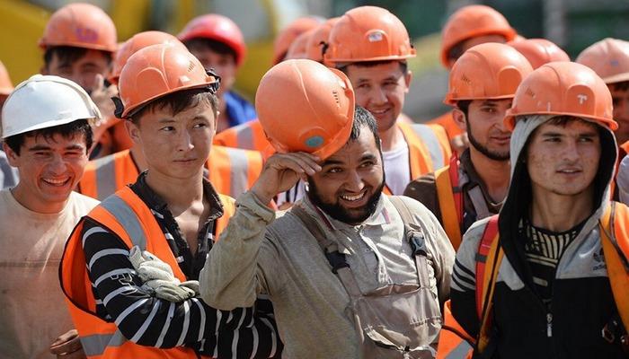 Rusya'da, göçmen işçiler zor durumda