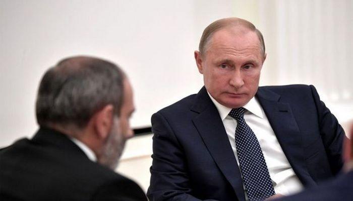 Sabah Paşinyanla Putinin görüşü olacaq