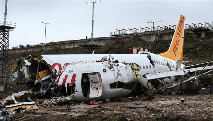 Sabiha Gökçen Havalimanı'ndaki uçak kazası ile ilgili yeni gelişme!