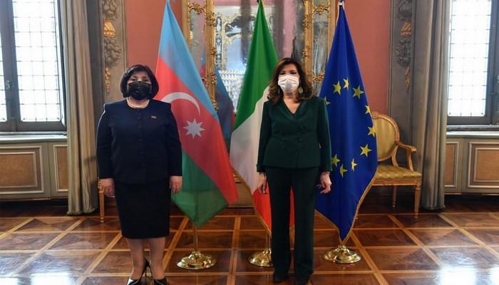 """Sahibə Qafarova: """"Mina xəritələrinin verilməsi üçün Ermənistana təzyiq göstərilməlidir"""""""