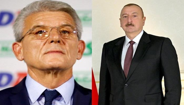 Şefik Caferoviç İlham Əliyevə başsağlığı verdi