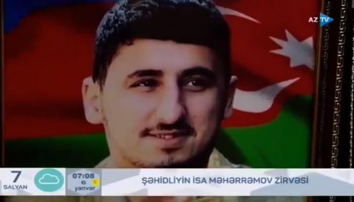 """Şəhid anası: """"Mənim balam qəhrəmandır"""""""