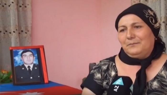 Şəhid Nazim İsmayılovun anasına vədi- Video
