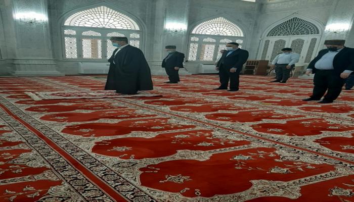 Şəhidlərimizin xatirəsi Bibiheybət məscidində yad olunub