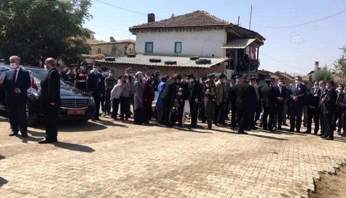 Şehit Jandarma Uzman Çavuş Yusuf Uyar son yolculuğuna uğurlandı