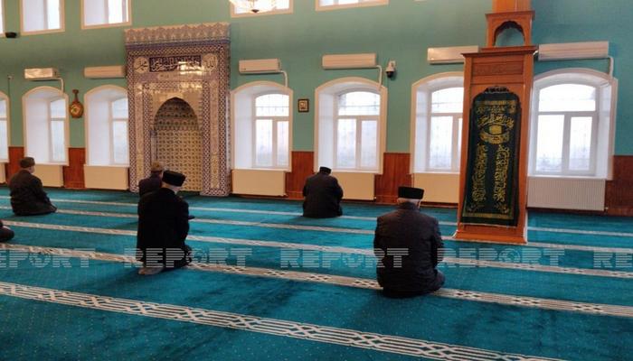 Şəki Mərkəzi Cümə Məscidində şəhidlərin xatirəsi anılıb