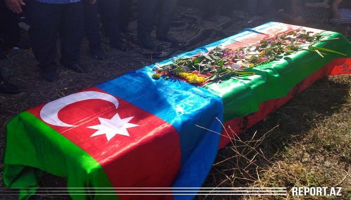 Шехид Хайям Дашдемиров похоронен в родном селе в Исмаиллы