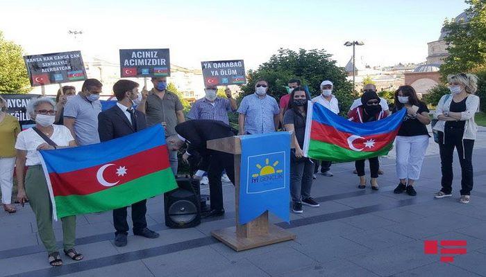 Sivasda Azərbaycana dəstək aksiyası keçirildi