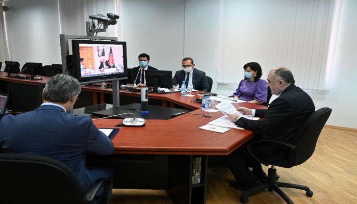 Состоялась онлайн-встреча глав МИД Азербайджана, Афганистана и Туркменистана