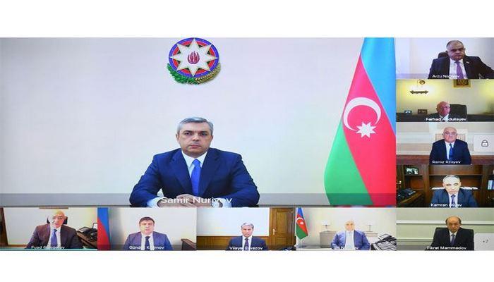 Состоялось первое заседание Комиссии Азербайджанской Республики по борьбе с коррупцией в новом составе