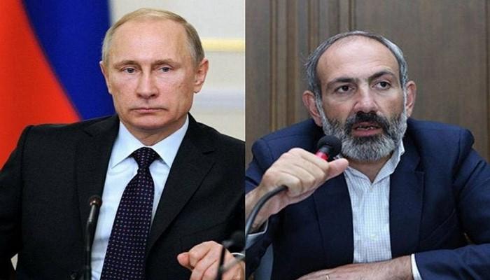 Состоялся телефонный разговор между Путиным и Пашиняном
