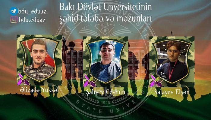 Студенты и выпускники БГУ, награжденные медалью «За Отчизну» (посмертно)