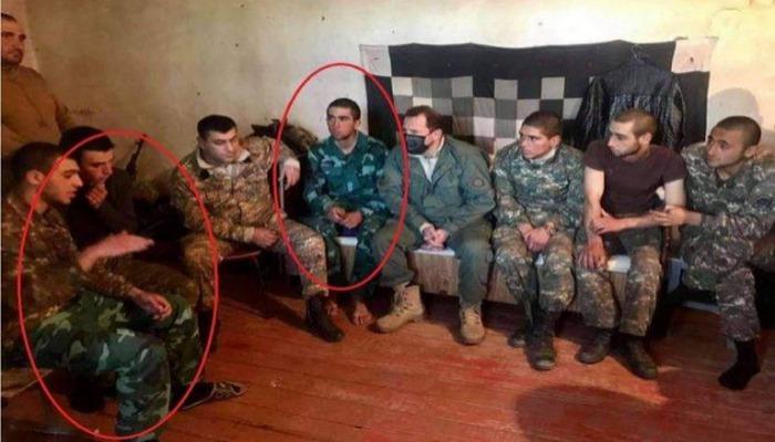 Şuşada PKK-çılara Azərbaycan hərbi forması geyindirilir