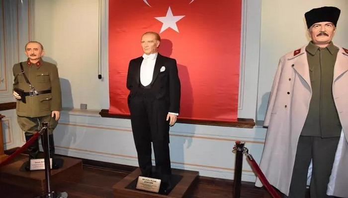 Trakya'da ilk, Türkiye'de 3. balmumu heykel müzesi Çorlu'da açıldı