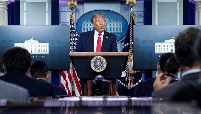 "Tramp: ""ABŞ-da pandemiya geri çəkilir"""
