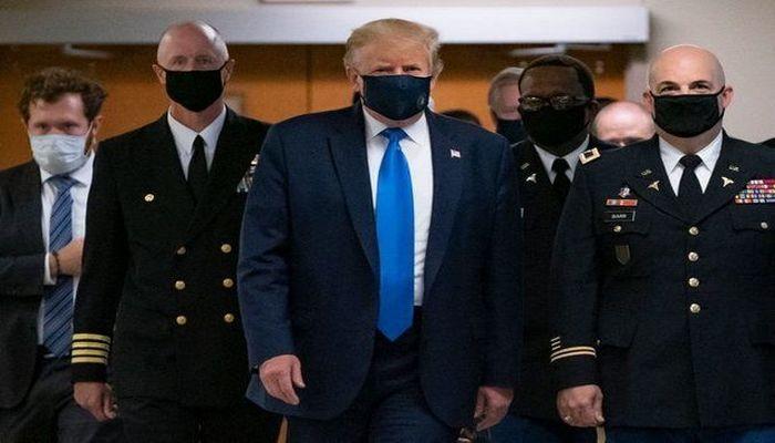 """Trampdan tibbi maskalarla bağlı açıqlama: """"Mən buna inanmıram"""""""