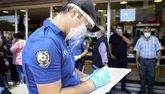 Tunceli'de karantina ve maske kuralına uymayan 5 şahsa ceza