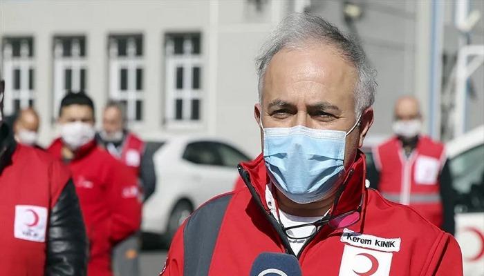Türk Kızılay Genel Başkanı Kınık: Bu olay bütün insanlığa yapılmış bir eylemdir