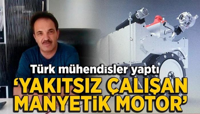 Türk mühendisler 8 yıl çalışıp 'yakıtsız çalışan manyetik motor' yaptı