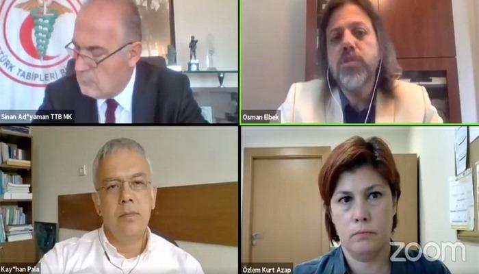 Türk Tabipleri Birliği: Salgın yönetilemiyor, fırtına kapıda