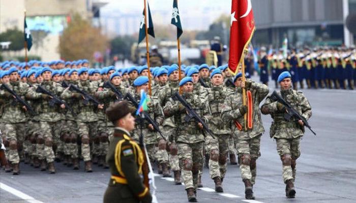 """Türkiyə MN: """"Qəhrəman komandolarımız millətimizin sevgisini və salamlarını çatdırmaq üçün Bakıdadır!"""""""