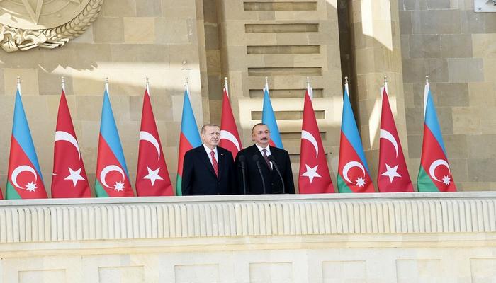 """Türkiyə Prezidenti: """"Azərbaycan İlham Əliyevin liderliyi altında dastan yazmağa davam edəcək"""""""