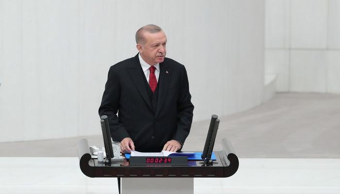 """Türkiyə Prezidenti: """"Qarabağ zəfərini həzm edə bilmirlər"""""""