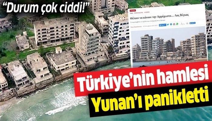 Türkiye'nin Kapalı Maraş hamlesi Yunanistan'ı panikletti