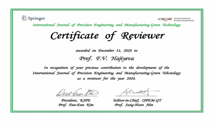 Ученая БГУ награждена сертификатом KSPE