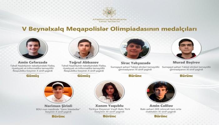 Ученик лицея «Молодые таланты» БГУ удостоен медали V Международной олимпиады мегаполисов