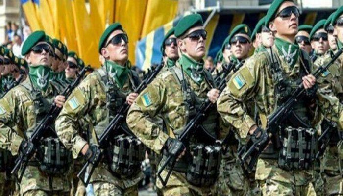 Ukrayna hərbçilərini Qarabağda döyüşmək üçün hazırlayır