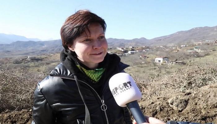 """Ukraynalı jurnalist: """"Ruhlar şəhəri Ağdamda bir dənə də salamat bina qalmayıb"""""""