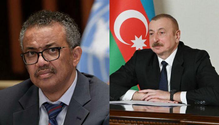 ÜST-ün direktoru Azərbaycan Prezidentinə təşəkkür etdi