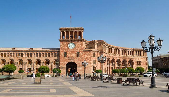 В Армении прозвучал гимн Азербайджана