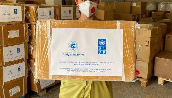 В Азербайджан доставлено 5 130 коробок с лекарственными препаратами для лечения больных туберкулезом