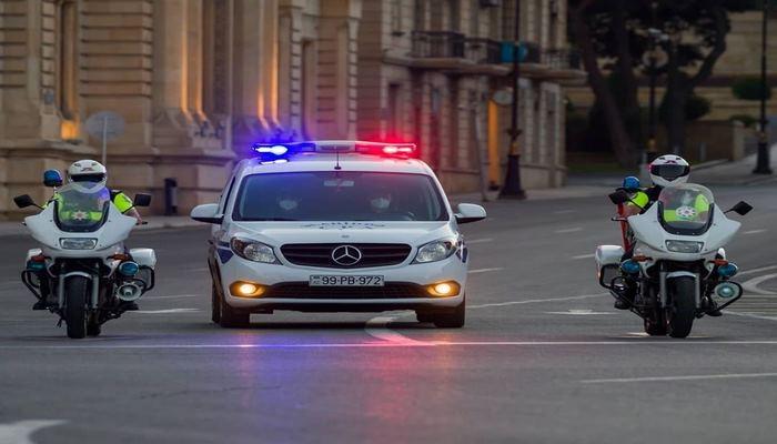 В Азербайджане с карантинных постов развернуты обратно 420 автомобилей — дорожная полиция