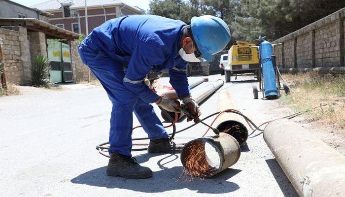В Азербайджане в первом полугодии проложено 584 км газопроводных линий