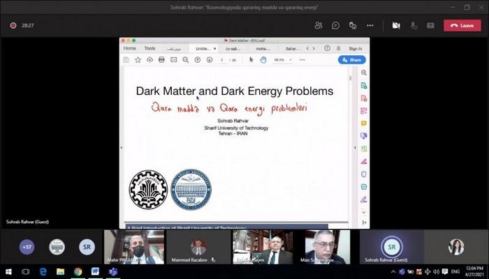 В БГУ иранский физик провел мастер-класс «Темная материя и темная энергия в космологии»
