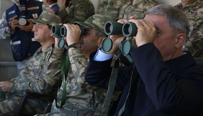 В ходе азербайджано-турецких совместных учений проведен «День высокопоставленных наблюдателей»