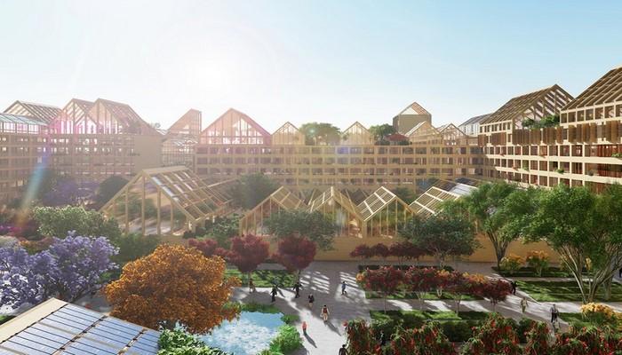 В Китае построят город будущего
